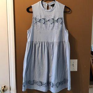 Top shop cotton dress